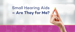 small hearing aids info